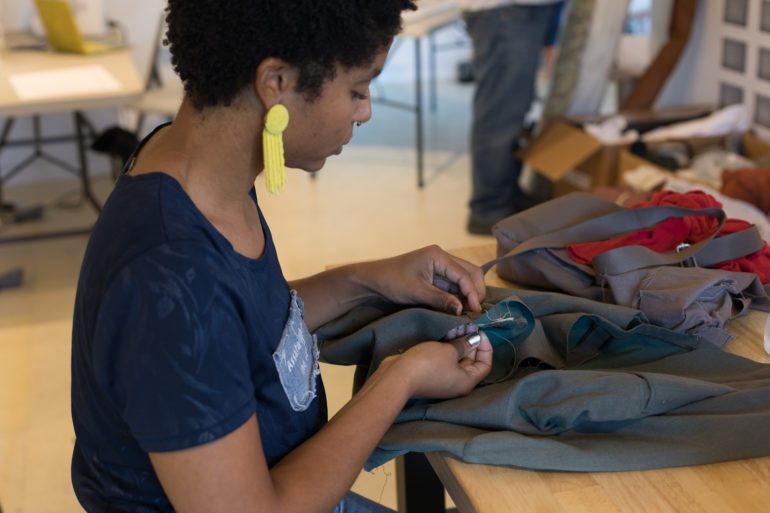 Slave Rebellion Reenactment Repurpose & Hand Sewing Workshop